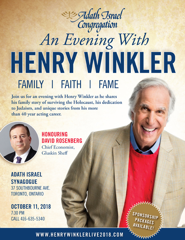 An Evening with Henry Winkler